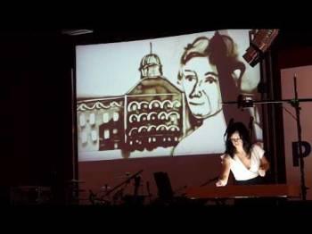 Volha Safronava a její písečná show