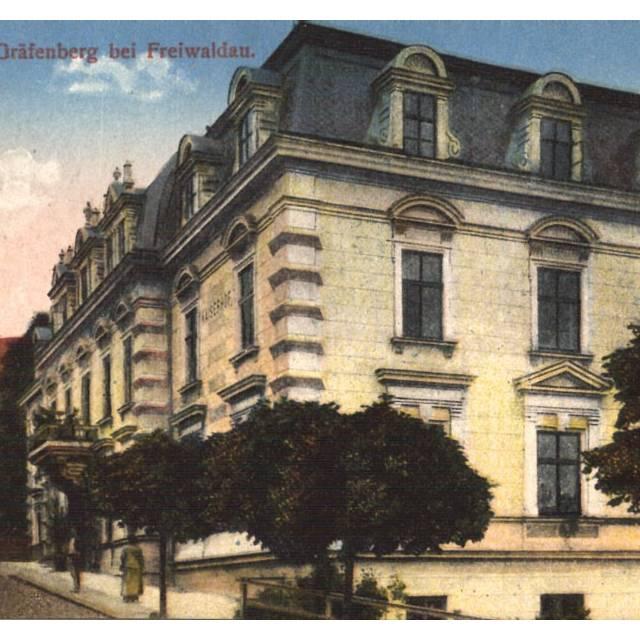 Lázeňský dům Bezruč r. 1930