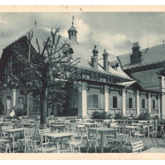 Lázeňský dům Vila na Kolonádě r. 1925