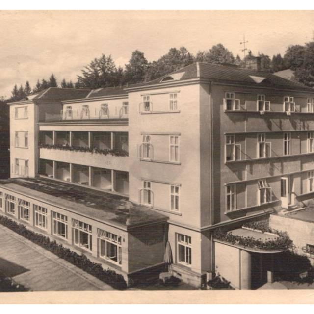 Lázeňský dům Wolker r. 1949