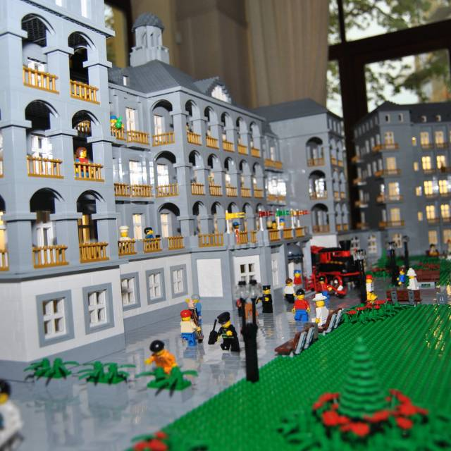 LEGO model Sanatoria Priessnitz