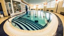 Lázeňský bazén mimo provoz