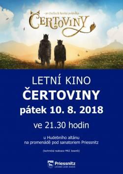 Letní kino v pátek 10. 8.