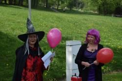 Pálení čarodějnic v lázních