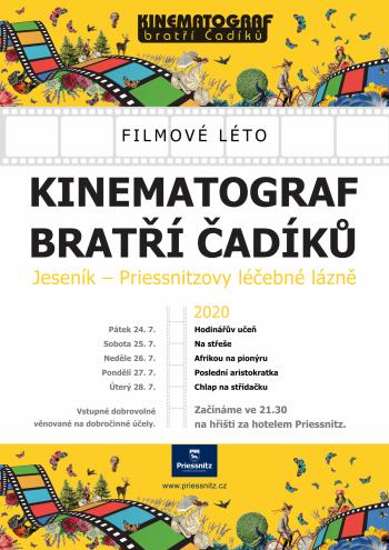 FILMOVÉ LÉTO - KINEMATOGRAF BRATŘÍ ČADÍKŮ