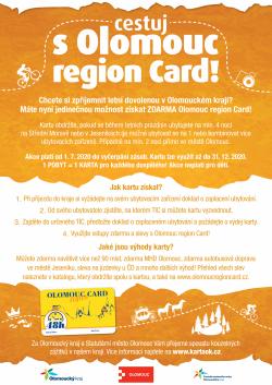 Cestujte s Olomouc region Card