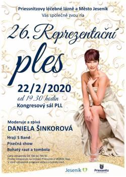 Zveme Vás na 26. Reprezentační ples PLL a města Jeseník