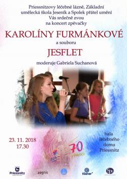 Koncert Karolíny Furmánkové a souboru JESFLET