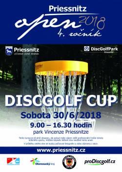 Discgolfový turnaj 2018