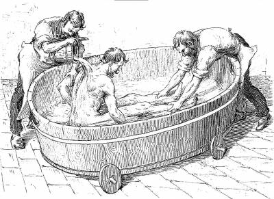 History of hydrotherapy in Gräfenberg hill