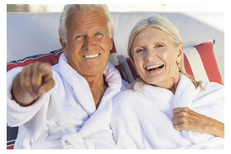 Spa stay for seniors